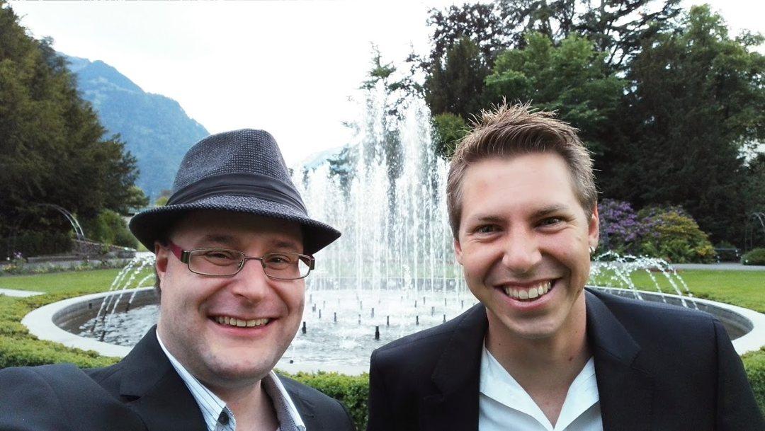 Martin Rechsteiner und Daniel Gfeller