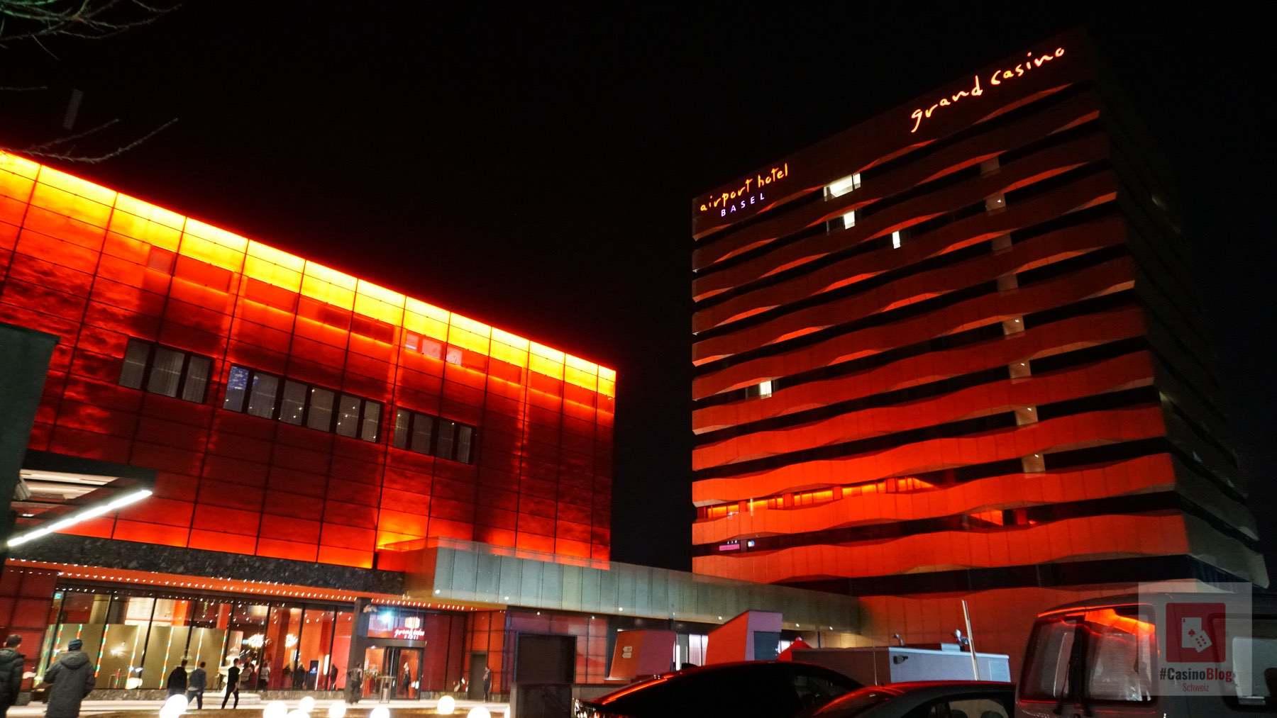 Casino und Hotel von hinten