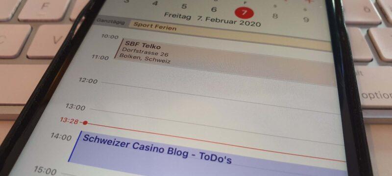 Aktueller Stand und Updates – Schweizer Casino Blog